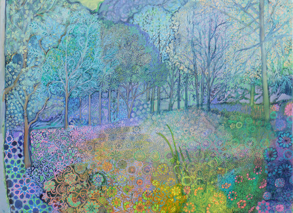 Spring Woodland Clearing