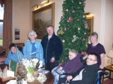 Poetry trip to Armathwaite hall at Christmas