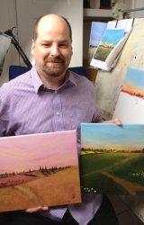 Andrew Cottrell In Studio