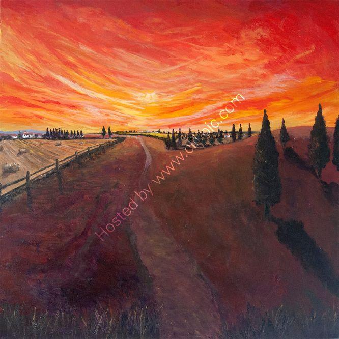 Burnt Tuscan Sun