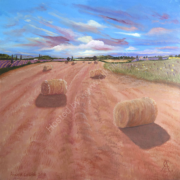 French Hay Bales
