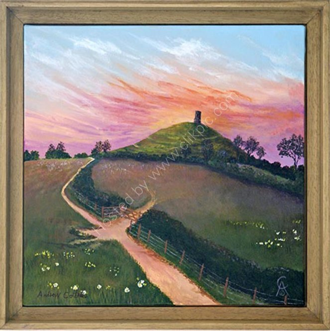 Glastonbury Tor Summers Eve