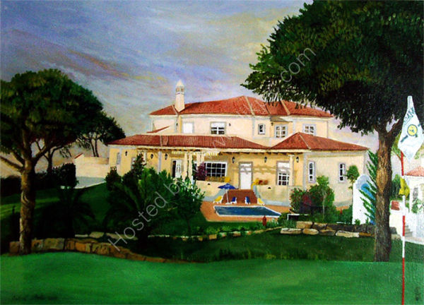 A Portugese Villa - Private Comission