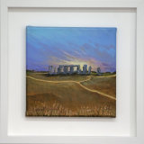 SunSet Over Stonehenge