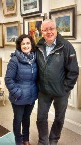Mark Mc Fadden from UTV Live with his beautiful wife Donna (Foyle Hospice)
