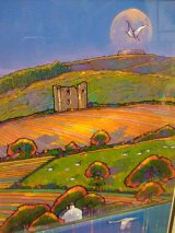 'Moon Over Grianan, scene from the Blanket Nook'