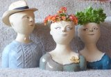 Ceramic Planter Heads