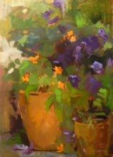 'Flowers in the porch'