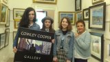beautiful young talented musicians and Christine Cowley