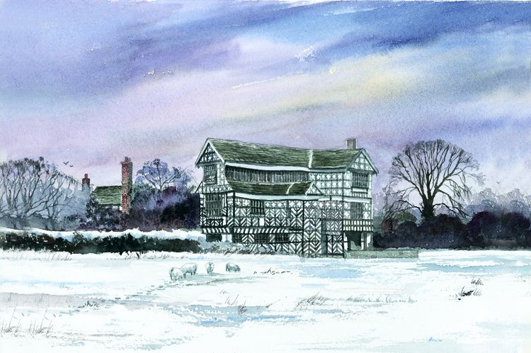 Little Moreton Hall Winter