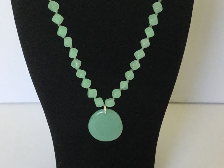 Individually Hand Knotted Necklace