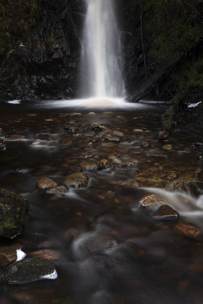 allt aird raineach waterfall