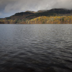 autumn colours, loch faskally