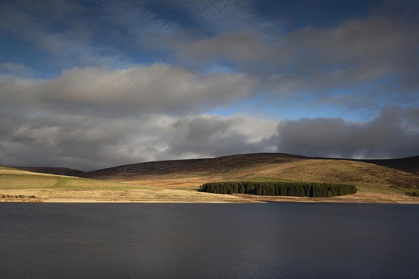 backwater reservoir