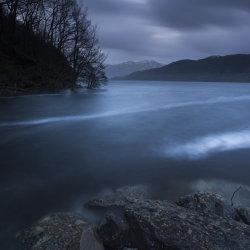 blue hour, loch lomond