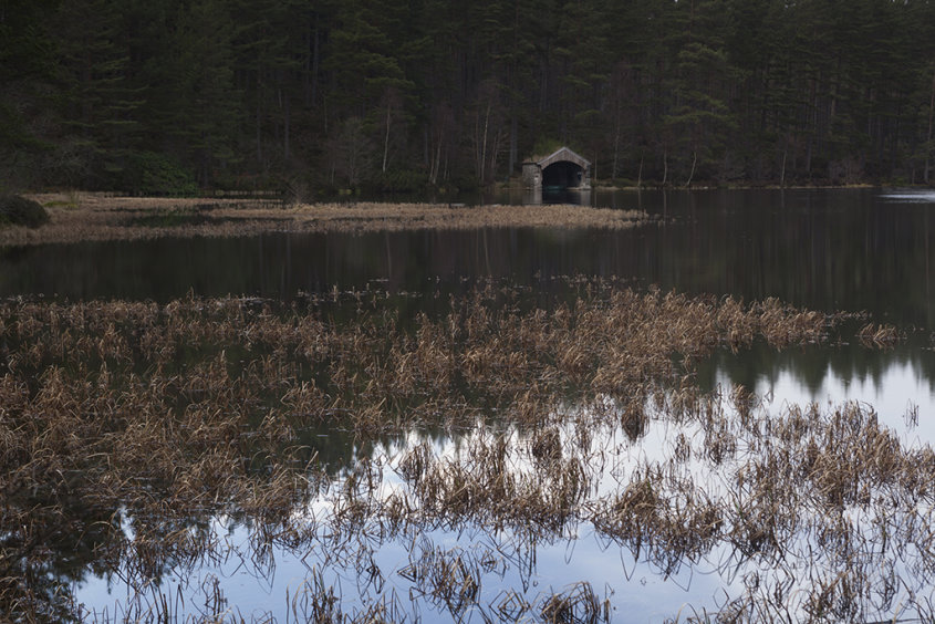 boathouse, glen tanar