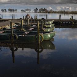 boats, monikie reservoir
