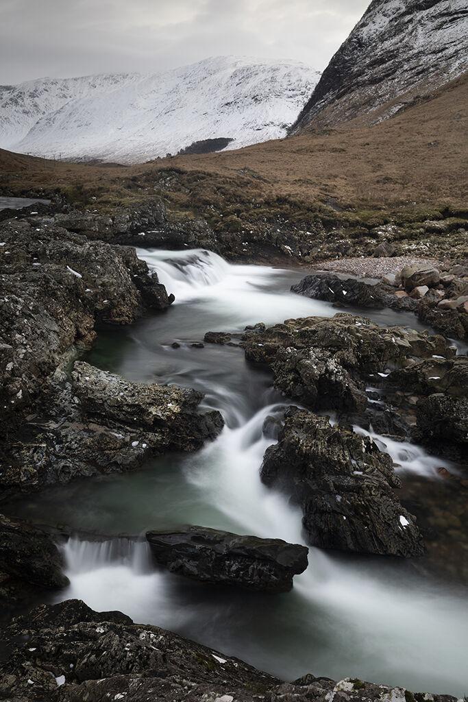 clear waters, glen etive