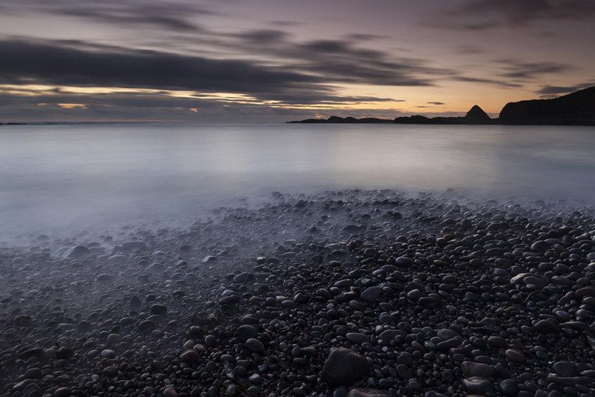 dawn, catterline beach