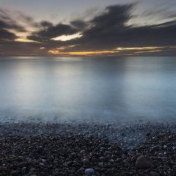 dawn, stonehaven beach