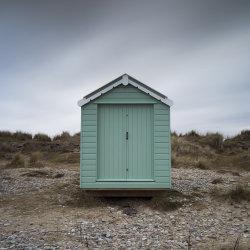 findhorn beach hut