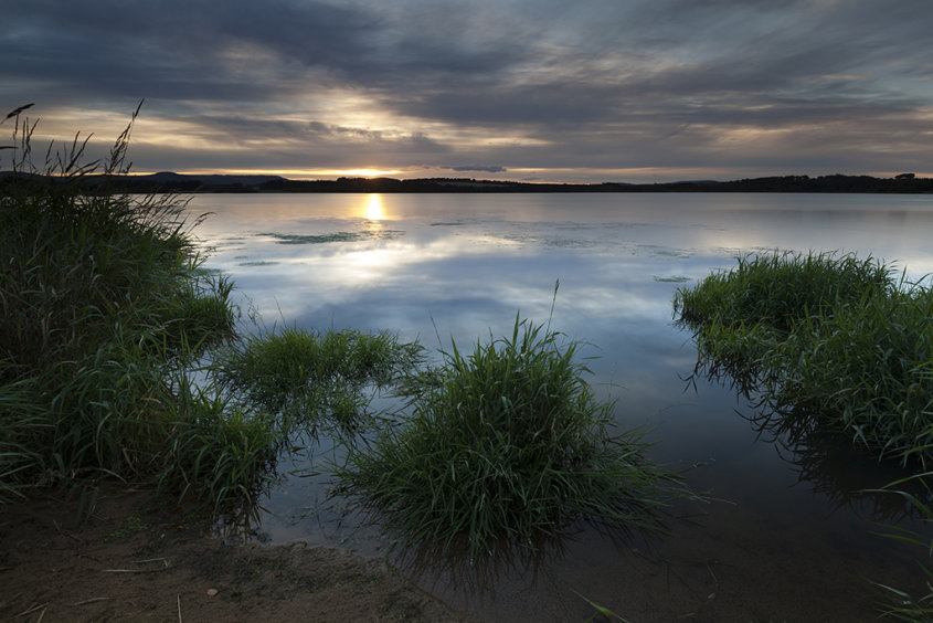 green shore, loch of skene