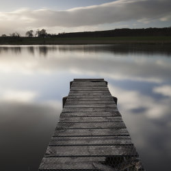 jetty, pitfour loch