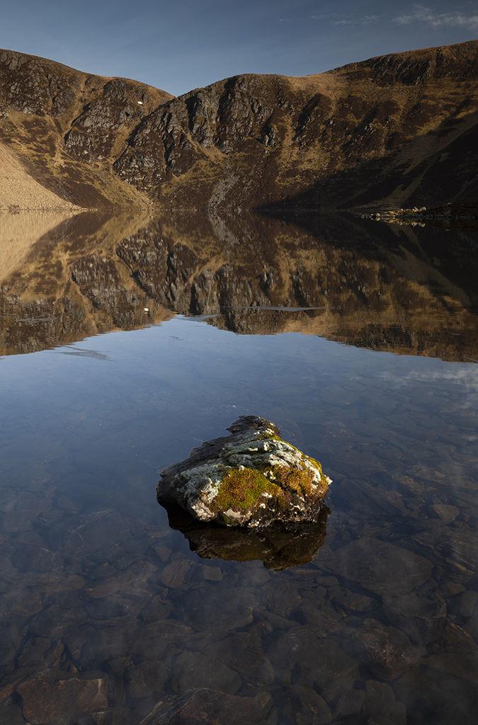 loch brandy reflections
