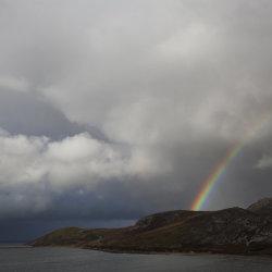 loch erriboll rainbow