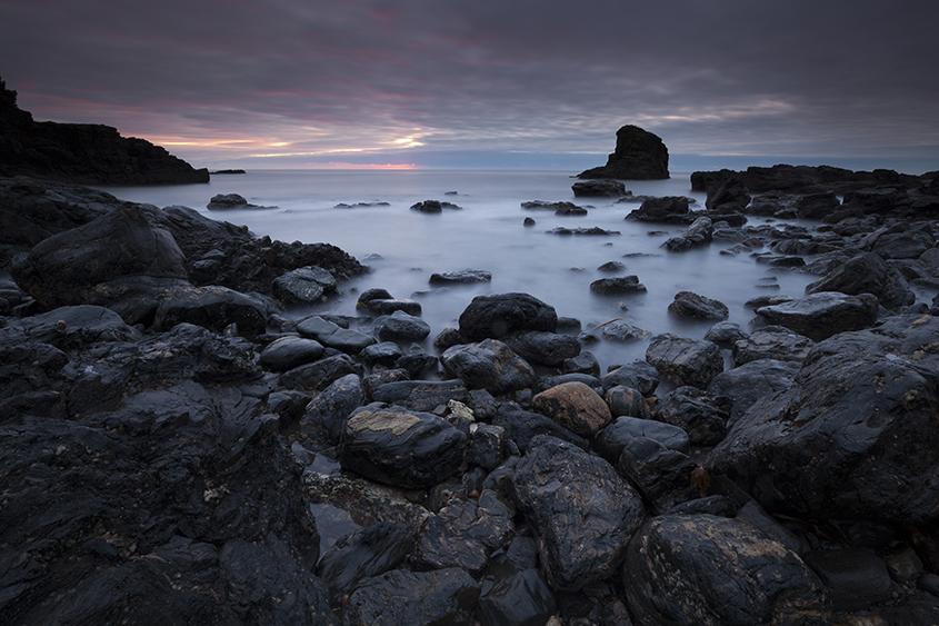muchalls beach dawn