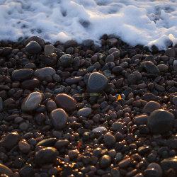 pebbles and sea, inverbervie