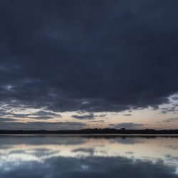 reflection, loch of skene