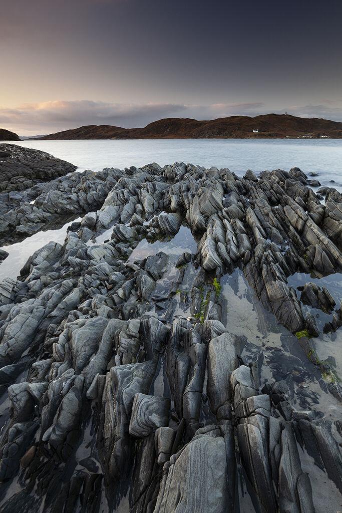 rockpools, morar beach