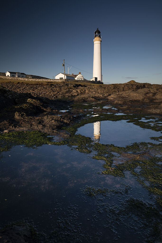 rockpools, scurdie ness lighthouse