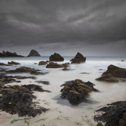 storm approaching, balnakeil