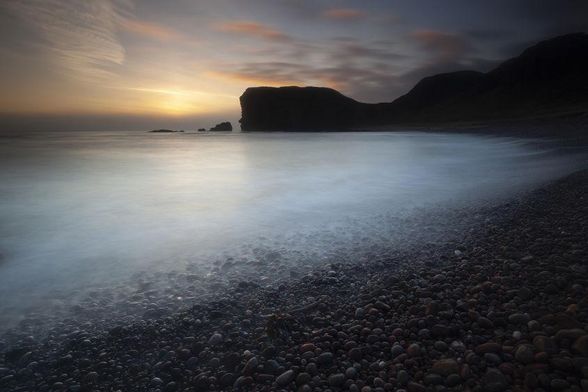 sunrise, castlesea bay