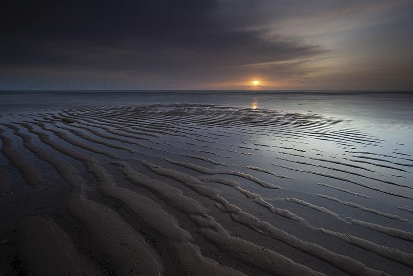 sunrise, donmouth beach