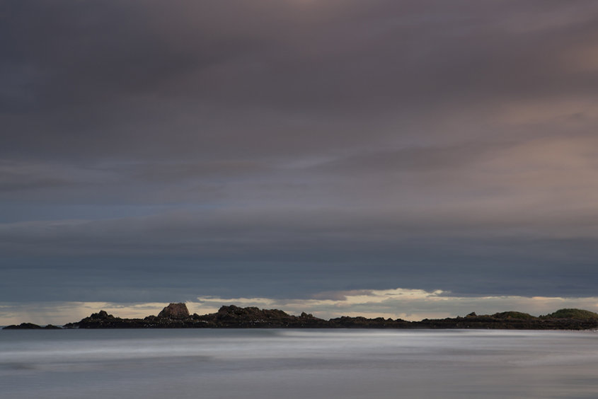 sunset, cruden bay