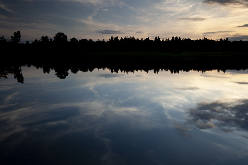 sunset reflections, policy loch
