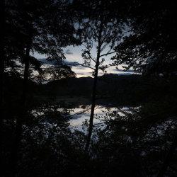 twilight, loch faskally