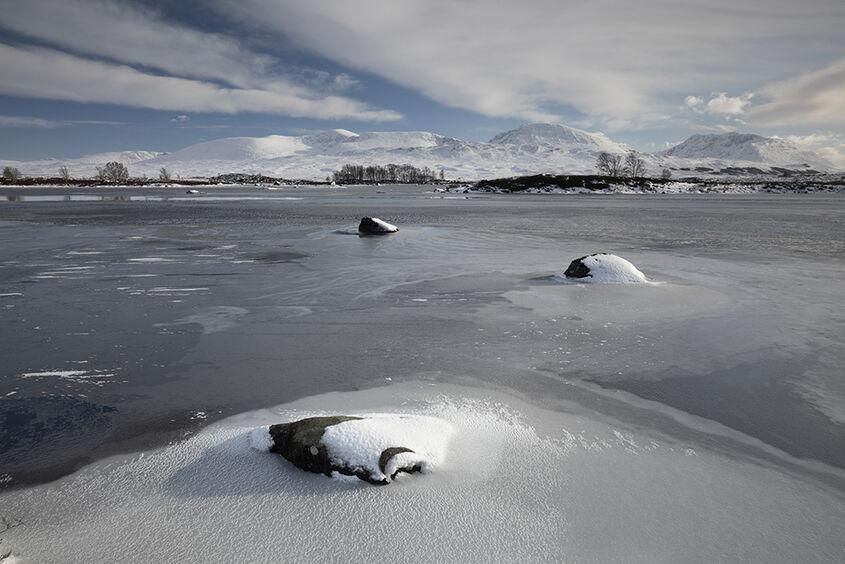 winter at loch ba