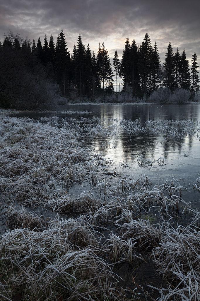 winter, polney loch