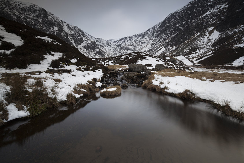 winter pool, corrie fee