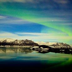 Jökulsárlón Aurora, Iceland