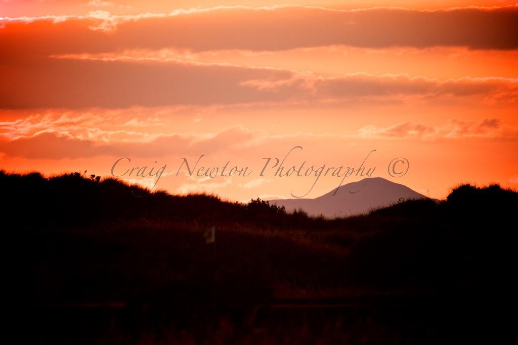 Sunset, Aberlady Bay, Scotland