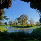 Croome from the Grotto