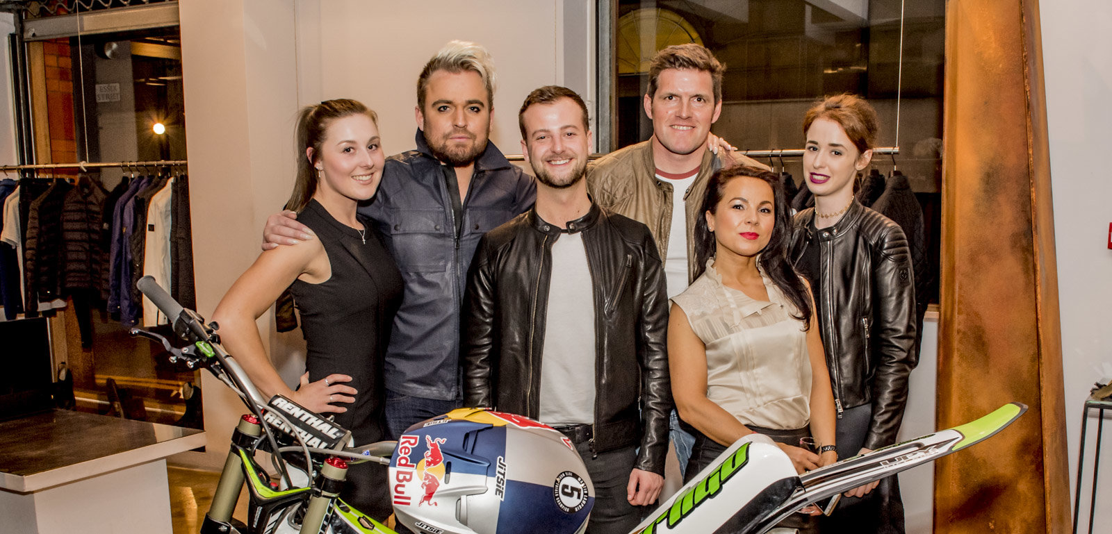 Belstaff Team and Dougie