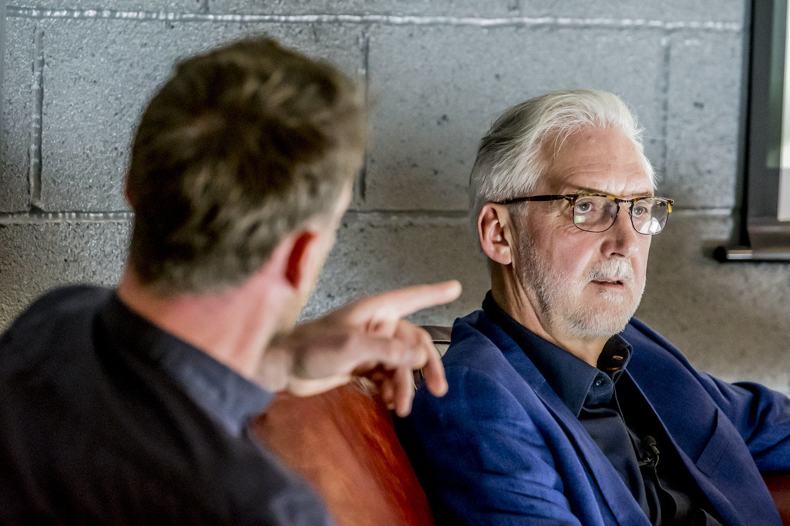 Brian Cookson in interview