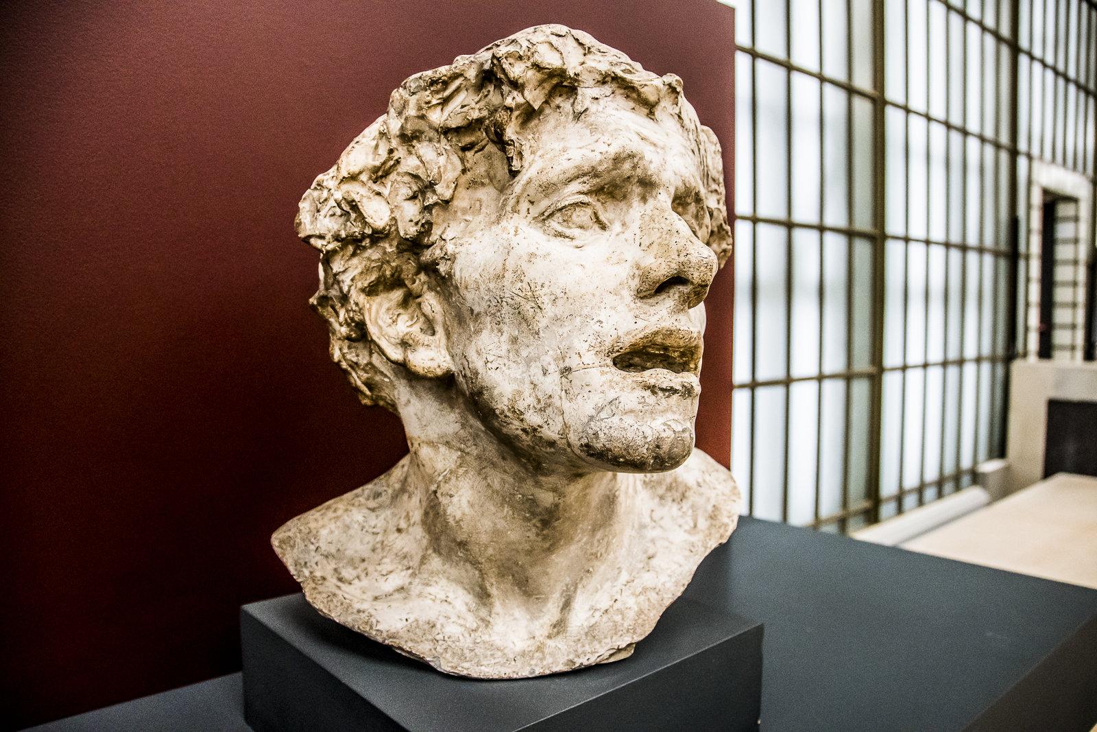 Bust at Musee d'Orsay