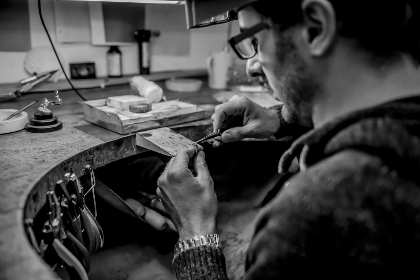 Expert jewellery making